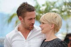 """Ryan Gosling and Michelle Williams Photos Photos - Actors Ryan Gosling and Michelle Williams attend the """"Blue Valentine"""" Photocall at the Palais des Festivals during the 63rd Annual Cannes Film Festival on May 18, 2010 in Cannes, France. - Blue Valentine - Photocall :63rd Cannes Film Festival"""