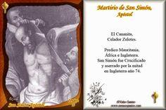 ¿Cómo murieron los Apóstoles? San Simon