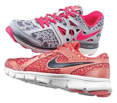 Stay fierce in Nike animal print running shoes! #athleticshoes