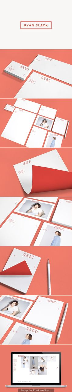 Personal branding corporate identity business card letterhead letterhead stationary enveloppe acc minimal geometric design photograph
