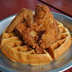 THE best chicken and waffles recipe I've ever made.