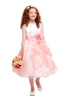 Zoey Girls Dress - PuddlesCollection.com
