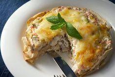 Υλικά συνταγής  8 αραβικές πίτες μεσαίες 2 φλ. τσαγιού μαγειρεμένο κοτόπουλο ή κιμά ή κρέας που περίσσεψε από την προηγούμενη 4 φρέσκα κρεμμύδια ψιλοκομμένα 1 συσκευασία τυρί κρέμα 1 φλ. τσαγιού φέτα σε τρίμματα 2 κ.σ.