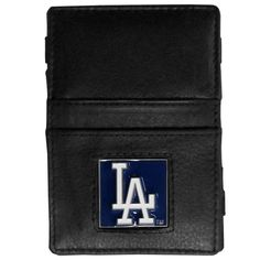 Los Angeles Dodgers Leather Jacob's Ladder Wallet
