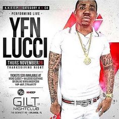 By @reg_4real  Thanksgiving Night! @YFN_LUCCI performing live #GILTNightClub powered by @KHEEPOrlando @TonyKhuu @JohnKocky @Category4 @MsDanniBoo2u #KHEEP #KHEEPUP #KHEEPNightLife #YFN #YFNLucci #LUCCI  #OrlandoNightLife#Disney#UniversalStudios#IslandsOfAdventure#Tourist#Tourism#DowntownOrlando#Party#Turnup#Dance#HipHop#Reggae#Latin#UCF#College#CentralFlorida#KHEEPUP#WOW#KHEEPNightLile#giltnightclub by msdanniboo2u - #giltnightclub #giltorlando #aperturestudiosmedia #edm #orlando…