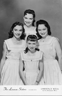 The Lennon Sisters ~ Dianne, Peggy, Janet, and Kathy