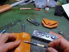 THE・MEXICO レザークラフト 一枚の革で作る小銭入れの作り方 動画