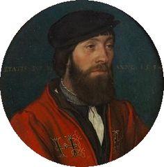 Hans Holbein. Ein Hofbediensteter König Heinrichs VIII (aka Portrait of a Court Official). 1534. Kunsthistorisches Museum, Vienna