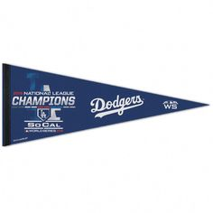 Your Los Angeles Dodgers are ready for the World Series after becoming the 2018 National League Champions, so celebrate by grabbing this On-Field Locker Room Celebration 12 x 30 Pennant from WinCraft. Baseball Gear, Baseball Games, Baseball Field, Baseball Tickets, National Baseball League, National League, Wsu Basketball, Soft Sided Coolers, Garage Makeover