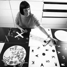 Anna Orska making mechanical flowers. PLANTIS collection in our boutiques.
