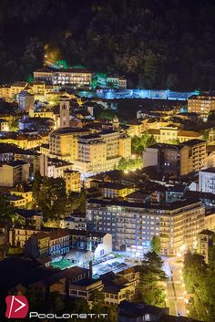 https://flic.kr/p/sQ4i6X | Borgosesia | Panorama notturno