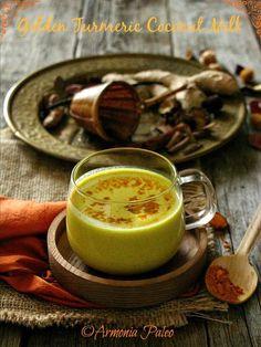 Golden Turmeric Coconut Milk - Latte d'Oro - Latte di Cocco alla Curcuma