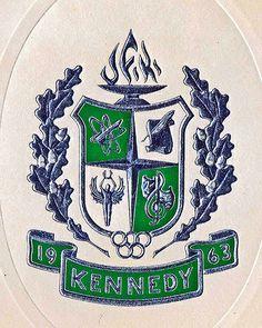 John F. Kennedy High School coat-of-arms by Flagman00, via Flickr