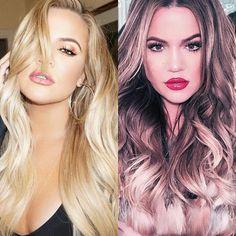 #Cheveux: les coupes et couleurs adoptées par les #célébrités en 2015 - #KhloeKardashian #blonde