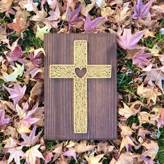 String Art, Cross, Love, Church, Christ, God, Jesus, Wood Sign, Christian, Christmas, Gift, Gold Cross, Heart Cross, Nail Art, Nail String by GrizzlyandCo on Etsy https://www.etsy.com/au/listing/477144390/string-art-cross-love-church-christ-god