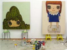 Girls, Girls, Girls! - Yoshitomo Nara studio visit