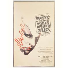 Theater Poster of Divine in Women Behind Bars | 1stdibs.com