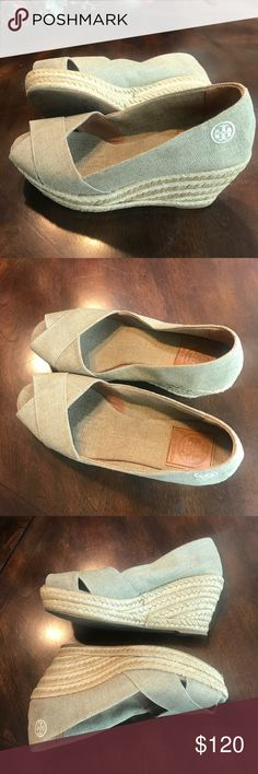 78d53b912c5 Tory Burch Espadrilles These are very pretty TB espadrilles. Made in Spain.  I love
