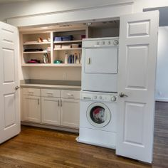 Closet Laundry Room Design Ideas, Pictures, Remodel and Decor
