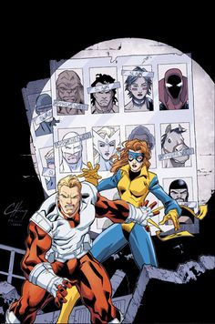 ALPHA FLIGHT #9 cover by Clayton Henry