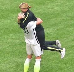 Head coach Jill Ellis and Abby Wambach embrace after the USA's 5-2 victory against Japan in the FIFA Women's World Cup Canada 2015 Final at BC Place Stadium on July 5, 2015 in Vancouver, Canada.