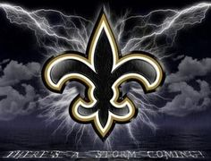 Feel the Storm Coming? New Orleans Saints Football, Who Dat, Football Wallpaper, Lsu, Projects For Kids, Project Ideas, Superhero Logos, Iphone Wallpaper, Wwe Superstars