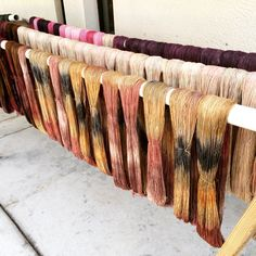 Fresh dyed yarn! Waiting for you :) autumn colors