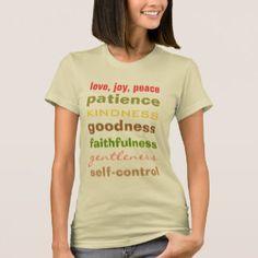 Fruit of the Spirit, christian t shirt
