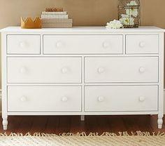 Addison Extra Wide Dresser #pbkids   Dresser w/ more storage to follow toddler