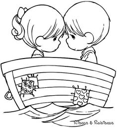 Pattern Coloring Pages, Cute Coloring Pages, Coloring Books, Precious Moments Coloring Pages, Picture Templates, Valentines Day Coloring Page, Valentines Day Pictures, Black And White Sketches, Disney Colors