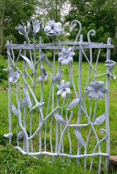 Sculpture and garden art , artistic metal furniture and gates - Garden and Drive Gates from David Freedman Sculpture
