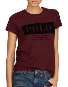 603805bbda778 POLO RALPH LAUREN Cotton Jersey Tee Polo Ralph Lauren