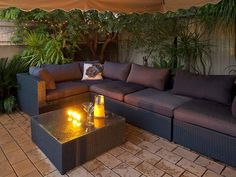 Until extension and new entertainment area finished? Outdoor Seating Areas, Garden Seating, Perth Western Australia, Real Estate Branding, Entertainment Area, Small Garden Design, Backyard, Patio