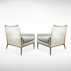 Paul McCobb for Directional Lounge Chairs | From a unique collection of antique and modern lounge chairs at www.1stdibs.com