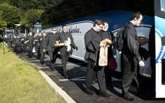 Seminarians attend Pope Visit