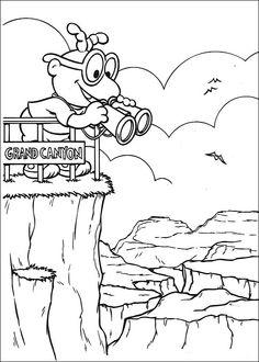Muppets Fargelegging. Tegninger 43