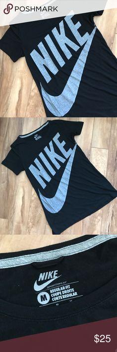 Nike swoosh logo tee