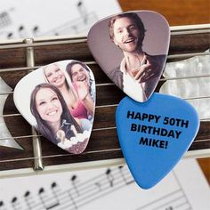 These ROCK!!!!  Personalized Photo Guitar Picks.