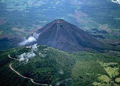 Volcán Santa Ana, El Salvador.