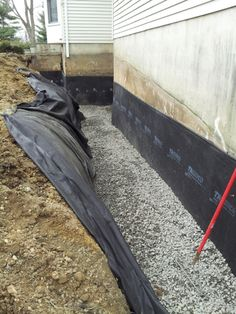 An exterior foundation drain and waterproof membrane is the best solution to your wet basement for the long term.