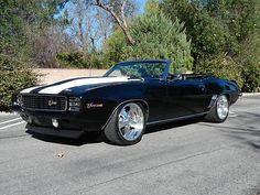 Sweet 1969 Chevrolet Camaro Convertible Pro Touring Convertible ZL1 427 w 6 speed Z28
