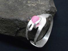 Silberarmreifen aus Silberbesteck-Gabel 108 von Atelier Regina auf DaWanda.com