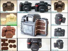 Camera Cake - How to