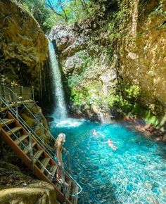 Rincón de la vieja volcano national park  Six pools with thermal waters heated naturally by the Rincón de la Vieja Volcano. The soothing mineral waters are crystal clear, all natural,fed by a river. Not to mention the freely available volcanic mud!