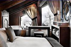 Atemberaubende chalets in der schweiz chalets interieurs en luxe