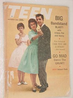 Vintage Books, Vintage Ads, Vintage Photos, American Bandstand, Little Shop Of Horrors, Rockn Roll, Ol Days, Classic Tv, Black And White Pictures