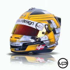 #Karting #Denmark #motorsports #helmet #HelmetGlue #helmetpaint #hok #Arai #AraiGP6 by liquidcolourdesign