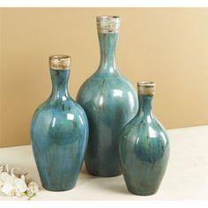 Intercule Home Aura Vases - Ocean 258074