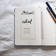 #bulletjournal #april #abril #study