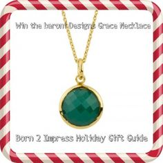 Win a beautiful necklace from baroni Designs Jewelry @the Born 2 Impress Holiday Gift Guide!